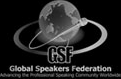 GSF (Global Speakers) Logo